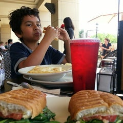 Photo taken at Jason's Deli by Emma W. on 6/14/2013