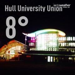 Photo taken at Hull University Union by Ram J. on 10/28/2013