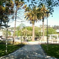 Photo taken at Plaza de Armas Talcahuano by Hania C. on 11/12/2012