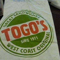 Photo taken at TOGO'S Sandwiches by Stella B. on 11/10/2012