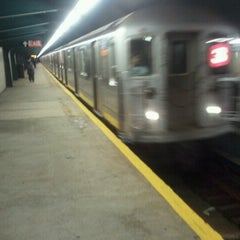 Photo taken at MTA Subway - Saratoga Ave (3) by Gary L. on 10/26/2012