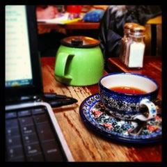 Photo taken at Gryphon Café by Chris G. on 12/27/2012