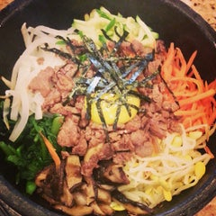 Photo taken at Shin Chon Garden Restaurant by Mary on 8/11/2013