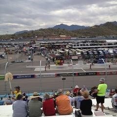 Photo taken at Phoenix International Raceway by Jen D. on 3/3/2013