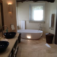 Photo taken at Hotel Pitrizza, Costa Smeralda by Giulia N. on 9/21/2013