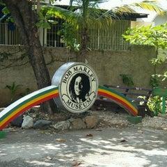 Photo taken at Bob Marley Museum by Samara A. on 1/18/2013