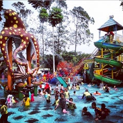 Photo taken at CAS Water Park by Dedi A. on 11/23/2014