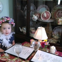 Photo taken at Teaberry's Tea Room by Susan K. on 4/26/2014