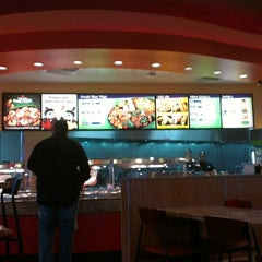 Photo taken at Panda Express by DeAundre B. on 5/9/2013