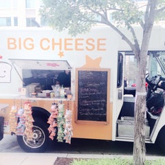 Photo taken at Big Cheese Truck by Kris on 5/29/2015