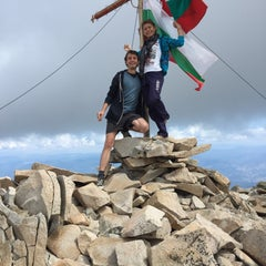 Photo taken at вр. Безбог, 2645м / Bezbog peak, 8677ft by Dobrin Y. on 8/24/2015