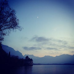 Photo taken at Château de Chillon by Paul G. on 11/18/2012