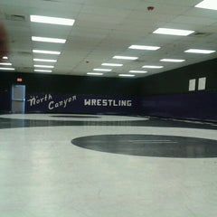 Photo taken at North Canyon High School by Collin N. on 11/3/2012