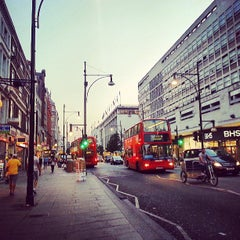 Photo taken at Oxford Street by Frederico on 7/9/2013