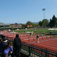 Photo taken at Hayward Field by Shawnte G. on 4/18/2015