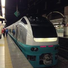 Photo taken at JR 上野駅 (Ueno Sta.) by SasaMasa 2. on 4/20/2013