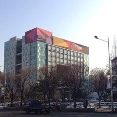 Photo taken at 건국대학교 (Konkuk University) by William K. on 2/13/2013