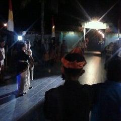 Photo taken at Keraton Amantubillah Mempawah by Marvely N. on 1/9/2013