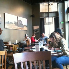 Photo taken at Awaken Cafe by Jennifer W. on 11/21/2012