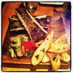 Photo taken at Barbuzzo Mediterranean Kitchen & Bar by Marie Gooddayphoto W. on 12/10/2012