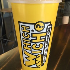 Photo taken at Which Wich? Superior Sandwiches by Malikah R. on 2/15/2015