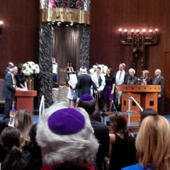 Photo taken at Temple Israel by Fred A. on 3/8/2014