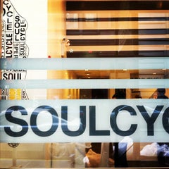 Photo taken at SoulCycle Union Square by Sara M. on 11/22/2012