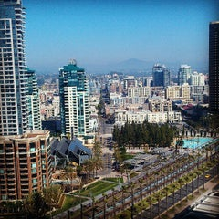 Photo taken at Manchester Grand Hyatt San Diego by Crystal H. on 3/14/2013