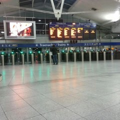 Photo taken at Dublin Connolly Railway Station by Heitor Z. on 11/23/2012