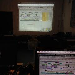 Photo taken at Scratch DJ Academy by somejerk on 3/29/2014