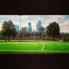 Photo taken at Currie Park by Chuck P. on 9/23/2013