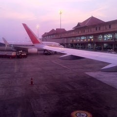Photo taken at Cochin International Airport (COK) by Ginu on 4/1/2013