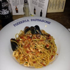 Photo taken at Pizzeria Pappagone by Jean on 7/12/2013
