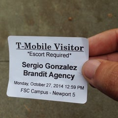 Photo taken at T-Mobile US HQ by Sergio on 10/27/2014