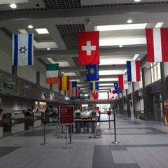 Photo taken at Austin Straubel International Airport (GRB) by Monica G. on 6/22/2013