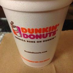 Photo taken at Dunkin' Donuts by Mindaugas on 10/18/2013