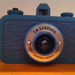 Photo taken at Lomography Gallery Store by Laura E. on 10/15/2012