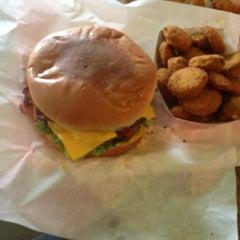 Photo taken at Texas Hamburger Palace by Briscoe on 4/8/2013