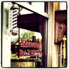 Photo taken at Kenwood Barbers by David O. on 10/20/2012