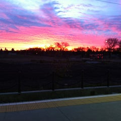 Photo taken at South Campus LRT Station by Tess G. on 10/18/2012