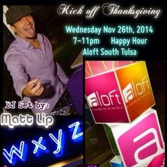 Photo taken at Aloft Tulsa by Matt L. on 11/27/2014