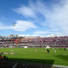 "Photo taken at Stadio Cibali ""Angelo Massimino"" by Federico on 10/28/2012"