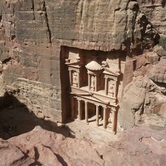 Photo taken at Petra البتراء by Andrea Gash I. on 4/28/2013