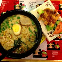 Photo taken at Ajisen Ramen by Shannon C. on 4/11/2013