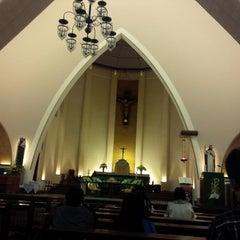 Photo taken at Gereja Katolik Katedral Santa Perawan Maria Dari Gunung Karmel by AGUSTINUS R. on 10/3/2014