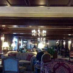 Photo taken at The Madison Hotel by Clare O. on 1/27/2013