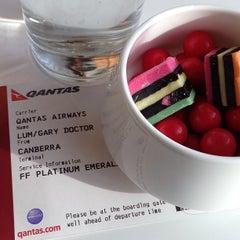 Photo taken at Qantas Business Lounge by Gary L. on 3/1/2013