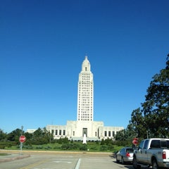 Photo taken at Louisiana State Capitol by Donny on 12/12/2012