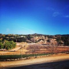 Photo taken at Masia De Yabar by Brandyn on 2/8/2014