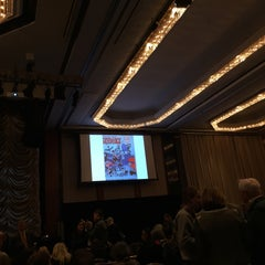 Photo taken at New York Hilton Grand Ballroom by Maria R. on 3/27/2015